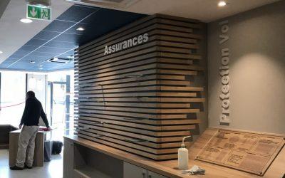 Une agence bancaire de plus réalisée par RVI !