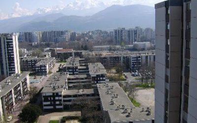 Grenoble Village Olympique réhabilitation de 630 Logements en cours