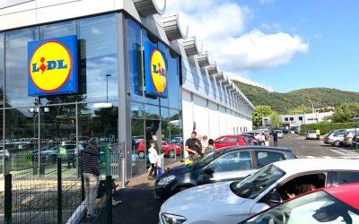 Transformation réussie d'un bâtiment industriel en magasin LIDL à SEYSSINET-PARISET
