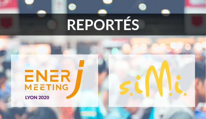 Annulations des salons ENERJ-MEETING et SIMI 2020